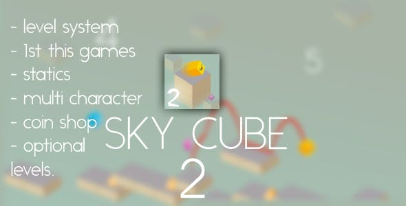 Sky Cube 2 - Android Game - Complete Game + Eclipse Project(with Admob&Heyzap)