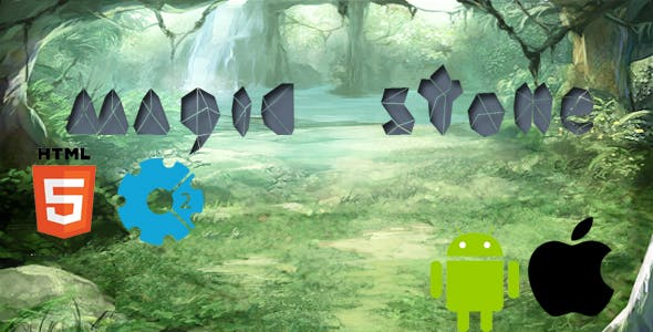 Magic Stone - match 3 games (HTML5)