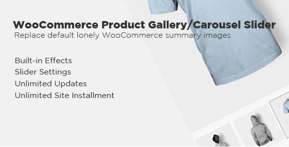 WooCommerce Product Gallery/Carousel Slider