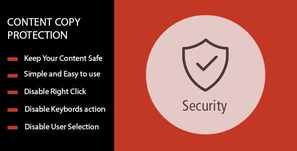 Content Copy Protection - No Right Click For Prestashop