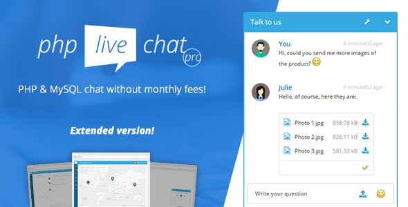 PHP Live Chat Pro - CodeCanyon Item for Sale
