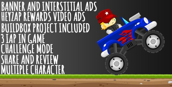 Monster Truck Challenge - 3 IAP - CodeCanyon Item for Sale
