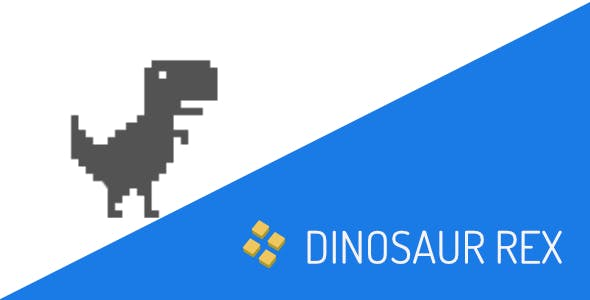 Dinosaur Rex Game Template for IOS