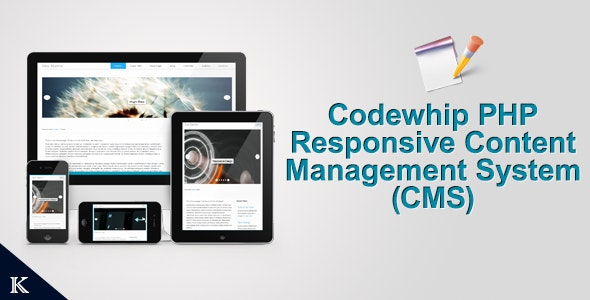 Codewhip Responsive CMS with Layout Builder - CodeCanyon Item for Sale