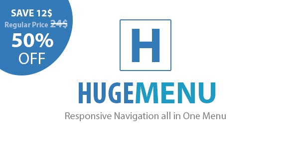 Huge Multipurpose Responsive Navigation Menu
