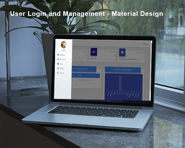 Codeigniter User Login and authentication - Material Design - CodeCanyon Item for Sale