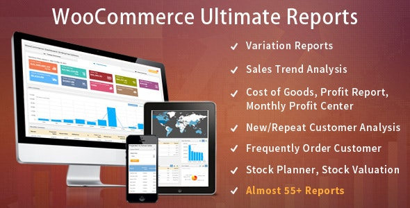 WooCommerce Ultimate Reports - CodeCanyon Item for Sale