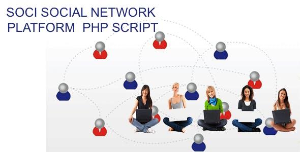Soci Social Network Script platform lite 1.0