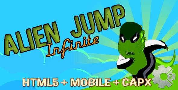 Alien Jump - Run Infinite (.capx)