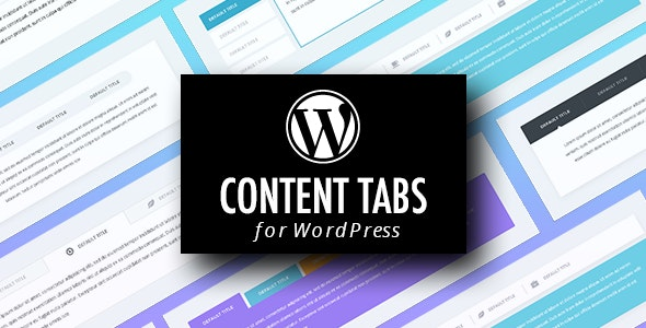 WordPress Content Tabs Plugin with Layout Builder - CodeCanyon Item for Sale