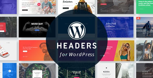 WordPress Headers Plugin with Layout Builder