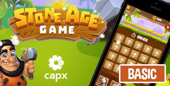 Stone Age HTML5 Game [ BASIC ] + Capx