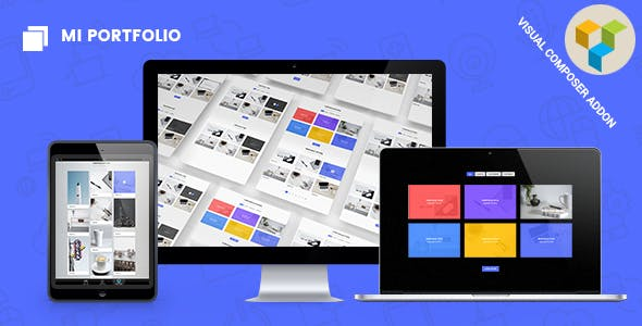Mi Portfolio - Responsive Portfolio Gallery for Visual Composer WordPress