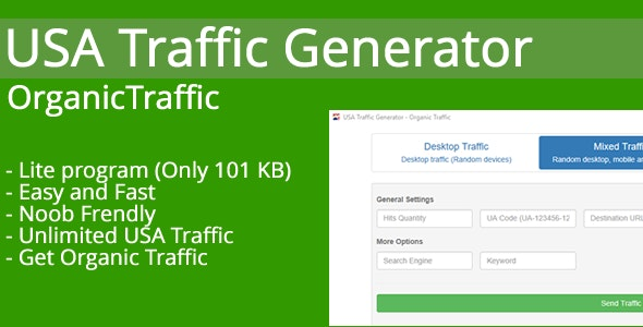 USA Traffic Generator - Organic Traffic - CodeCanyon Item for Sale