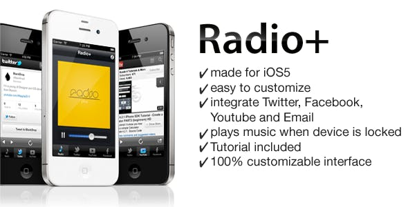 Radio App for iPhone iOS5