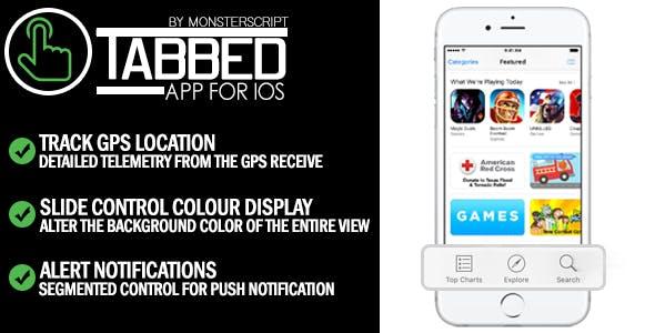 Tabbed App for iOS