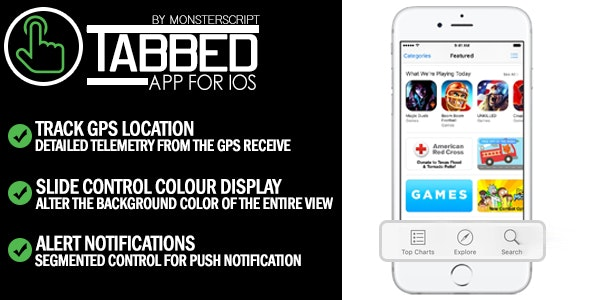 Tabbed App for iOS - CodeCanyon Item for Sale