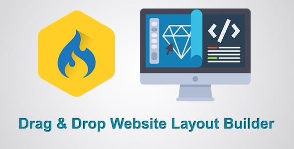 Drag & Drop WYSIWYG Layout/Website Builder CMS