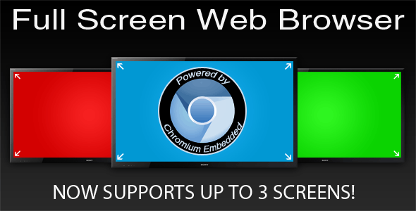 Full Screen Web Browser