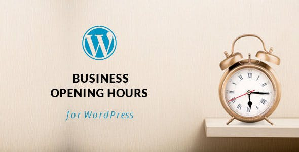 WordPress Opening Hours Plugin with Layout Builder