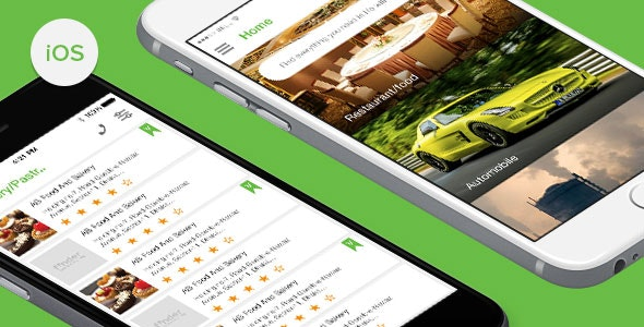 Finder - iOS Directory App Template - CodeCanyon Item for Sale