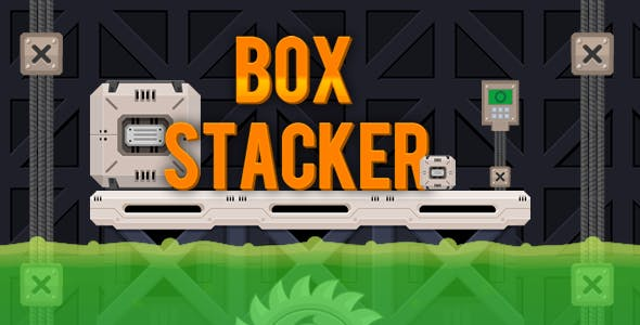 Box Stacker - HTML5 Puzzle Game