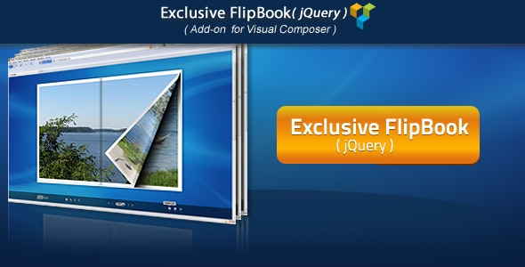 Visual Composer Add-on - Exclusive jQuery FlipBook