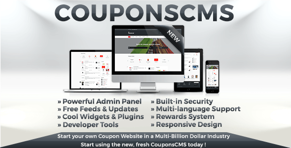 Coupons CMS 7 - CodeCanyon Item for Sale