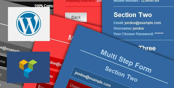 Ajax Multi Step Form - CodeCanyon Item for Sale