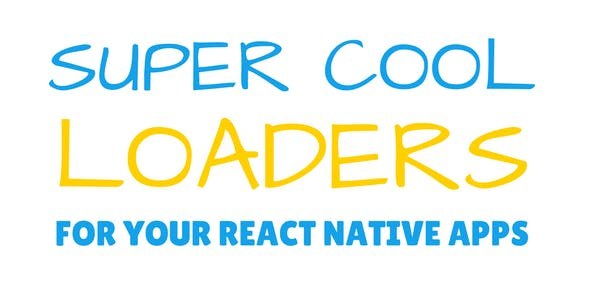 React Native Cool Animated Loading Indicators - CodeCanyon Item for Sale