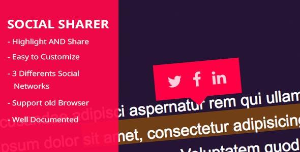 Socialsharer Share Easily Selected Text on Social Media