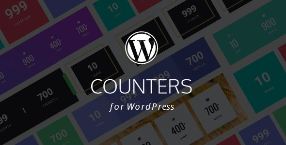 WordPress Statistics Counter Plugin with Layout Builder - CodeCanyon Item for Sale