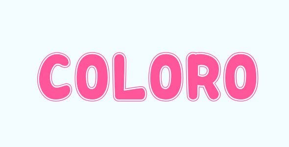 Coloro - Html5 Mobile Game - android & ios