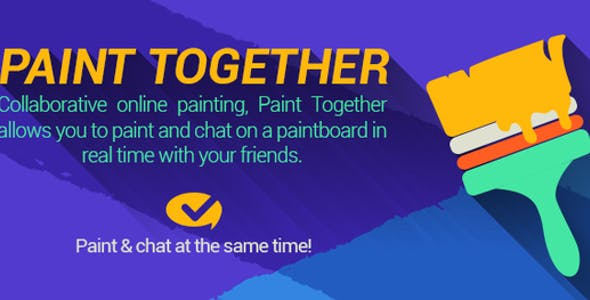 Paint Together - Social Painting App