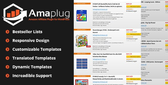 Amazon Affiliate Plugin - Amaplug
