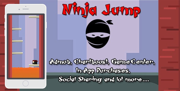 Ninja Jump Game - CodeCanyon Item for Sale