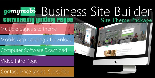 gomymobiBSB's Site Theme: Converting Landing Pages - CodeCanyon Item for Sale