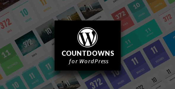 WordPress Countdown Plugin with Layout Builder - CodeCanyon Item for Sale