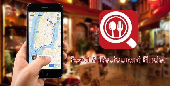 Food & Restaurant Finder App For IOS - CodeCanyon Item for Sale