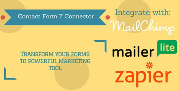 CF 7 Connector (MailChimp, MailerLite and Zapier)