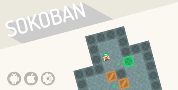 Sokoban - HTML5 Puzzle Game - CodeCanyon Item for Sale