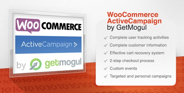 WooCommerce ActiveCampaign by GetMogul by getmogul | CodeCanyon