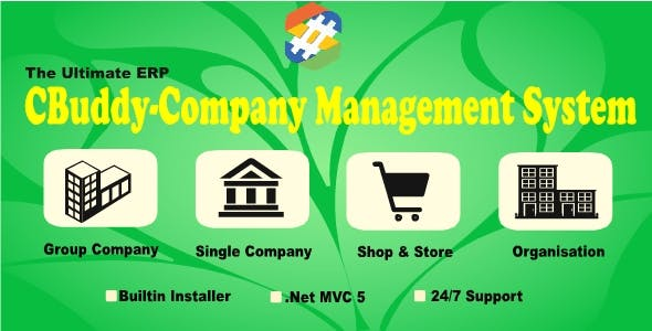CBuddy ERP | MultiBranch | HR | Project | CRM | Accounts | Company Management System with SourceCode