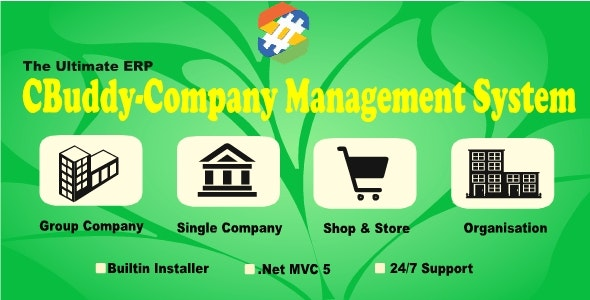 CBuddy ERP | MultiBranch | HR | Project | CRM | Accounts | Company Management System with SourceCode - CodeCanyon Item for Sale