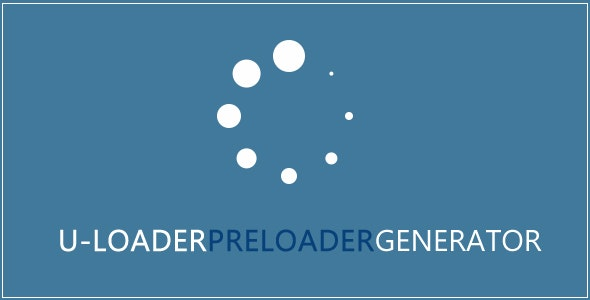 ULoader - Preloader Code Generator - CodeCanyon Item for Sale