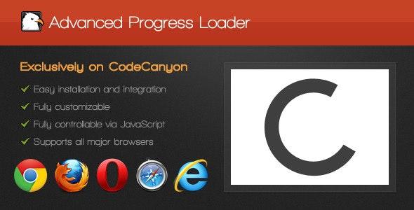 Advanced Progress Loader - CodeCanyon Item for Sale