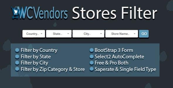 WCVendors Seller/Vendor Filter