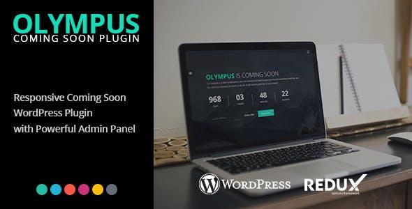 Olympus - Responsive Coming Soon WordPress Plugin