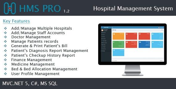 HMS - Hospital Management System - SaaS - CodeCanyon Item for Sale