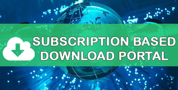 Subscription Based Content Download Portal